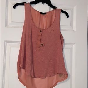 Salmon color tank top